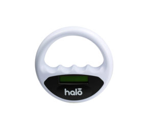 Halo reader for electronic  chip